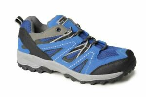 Ladies Hiking Walking Shoe Lace Fastening Grip Comfort Trainers Thick Tread