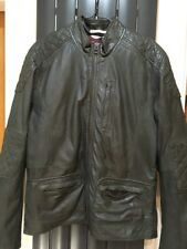 Pepe Leather Mens Jacket Every Inch A Brit