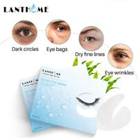 60Pcs Gold Hydrogel Eye Patches Firming Eye Cover Collagen Gel Under Eye Pads UK