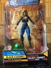 DC UNIVERSE CLASSICS WAVE 9  Black canary MOSC MOC MISB SEALED NEW
