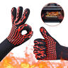 Silicone Extreme Heat Resistant Proof Cooking Oven Mitt Grilling Glove sa
