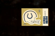 1983 Fleer Action BALTIMORE COLTS Helmet Sticker