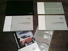 2003 Nissan Murano Owners Manual with cover