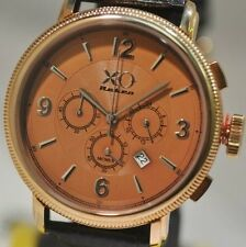 XO Retro Men's Ferrari 250 GT DNA Rose Gold-tone, Salmon Dial Chronograph Watch