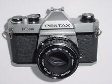 Pentax K1000 35mm Film SLR Manual Camera w/ Pentax M 50mm F/1.7 SMC Lens * Ex+++