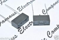 4pcs - S&EI MFG 0.1uF (0,1µF) 400V 5% Film Capacitor