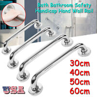 Commercial Grab Bar Stainless Steel Bath Bathroom Safety Handicap Hand Wall Rail