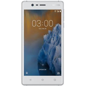 Nokia 3 Touchscreen 5.0'' Smartphone GSM HSPA LTE Unlocked- 12 months warranty