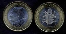 VATICANO Giovanni Paolo II 1000 Lire bimetallic 2001  FDC (UNC)