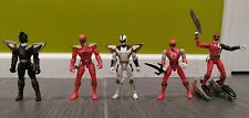 Power Rangers - Dino Thunder- 5 Mixed Figures Lot
