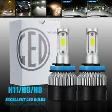 H9 H11 LED Headlight for Chevy Silverado 1500 07-15 2500 3500 HD 07-19 Low Beam