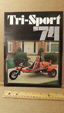 Vtg Tri-Sport TS-30 101 110 130 RTS-8  MAC 340 Sales Brochure by Alsport