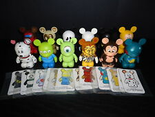 "DISNEY 3"" VINYLMATION PARK #2 SERIES COMPLETE SET OF 12 FIGURES PONGO CHASER"