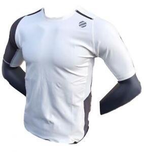 Reebok UFC MMA Jiu-Jitsu Training Short Sleeve Compression Rash Guard Top Shirt