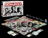 THE WALKING DEAD MONOPOLY AMC TV EDITION EDITION  NEU TOP