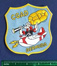 "Uscg Air Station Bermuda ""Popeye"" Cgad Air Detachment Uscg Military Patch"