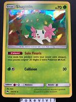 Carte Pokemon SHAYMIN 33/214 HOLO Soleil et Lune 8 SL8 FR NEUF
