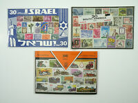 Vintage 160x World Stamps Collection ISRAEL - SOUTH AMERICA - Auto Stamps