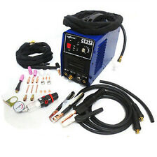 110/220V TIG/MMA welder + plasma cutter 3in1 welding machine + accessories CT312