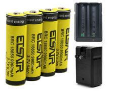 4PCS 9900mAh 3.7V 18650 Li-ion Rechargeable Battery For LED Flashlight Headlamp