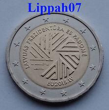 Letland speciale 2 euro 2015 EU-voorzitter UNC