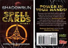 Shadowrun-Series 1-Fifth Edition-Spell Cards-RPG-Roleplaying-Catalyst-neu-new