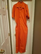 Inmate Jail Prisoner Convict Prison Orange Jumpsuit 3xl D.C. Jail System. NEW