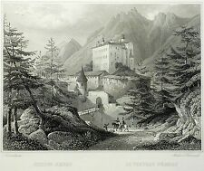 AMRAS (Innsbruck) - Castello Ambras-Frommel-ACCIAIO CHIAVE 1842