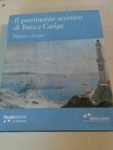 LIBRO - 2 LIBRI IL PATRIMONIO ARTISTICO DI BANCA CARIGE--FONDAZ.CARIGE