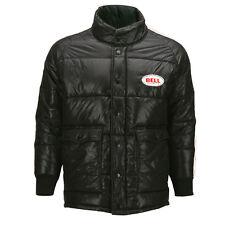 Bell Retro Vintage Puffy Puff Jacket Coat Black Red Adult Men's Medium MD M