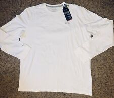 Nwt Under Armour Mens Loose Heat Gear Charged Cotton Long Sleeve Shirt White 2Xl