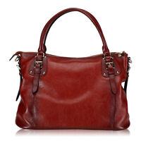 Retro Women's Genuine Leather Messenger Shoulder Cross-body Bag Handbag Hobo New