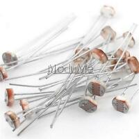 20Pcs 5mm Photoresistor GL5528 Light Sensitive Resistor Optoresistor