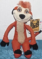 "11"" Disney beanbag plush Broadway Musical LION KING TIMON w/Tags FREE SHIP TOY"