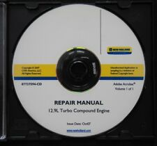 NEW HOLLAND T9030 T9040 T9050 T9060 TRACTOR 12.9L COMPOUND ENGINE REPAIR MANUAL