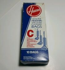 Open Box unused Genuine Hoover Type C 9 Count Bag Vacuum Bags