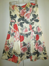 Ladies Forever New Size 10 Floral Party Clubbing Dress Races Netting Underskirt