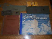 Original WWII Pilot Lot Flight Manual and More Airplane1942