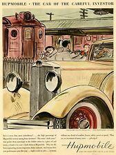Publicité classic car automobile Italie HUPMOBILE. Art Poster Print LV105
