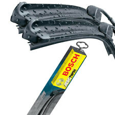 Fits Fiat 500 1.3D Bosch Aerotwin Flat Wiper Blade Set 600mm 340mm RHD Window