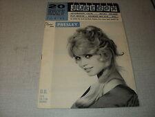 JUKE BOX 029 (1/3/59) BRIGITTE BARDOT BECAUD CATERINA VALENTE BRASSENS PIAF
