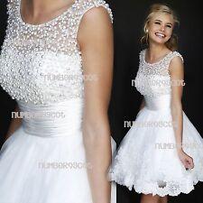 Unbranded Scoop Neck Short Wedding Dresses