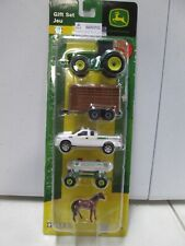 Ertl John Deere Gift Set with Tractor and Truck