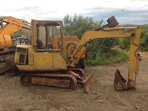 Dismantling-Komatsu Pc20/3 Mini Digger Excavator !! Blade Ram Only !!!