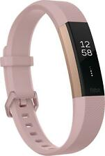 Fitbit FB408 Alta HR Gold Activity Fitness Tracker - Rose Gold Band