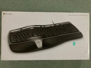 New in Box Microsoft Natural Ergonomic Keyboard 4000 Model 1048 B2M-00012