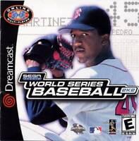 World Series Baseball 2K2 Sega Dreamcast Game Used Complete