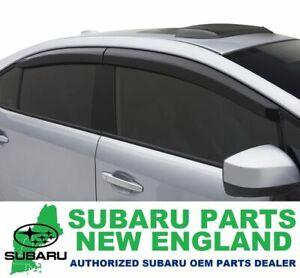 Genuine OEM Subaru Sedan Side Window Deflectors Vent Visors E3610FJ860