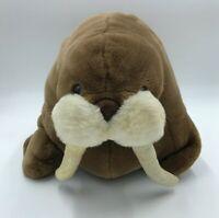 "Westcliff Collection Walrus Vintage 19"" Brown White Stuffed Animal Plush"