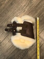 Crosby Fleece Leather Horse Hind Boot                RIGHT BOOT ONLY!